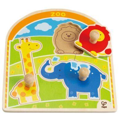 HAPE Vkládací puzzle Zoo cena od 164 Kč