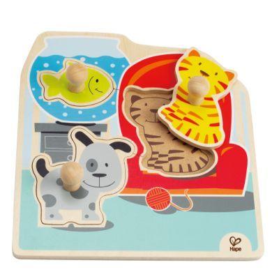 HAPE Vkládací puzzle moje domácí zvířátka cena od 164 Kč