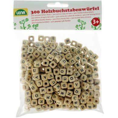 LENA Dřevěné kostičky s písmenky cena od 0 Kč