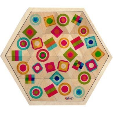 HESS Vkládací hra barevné tvary