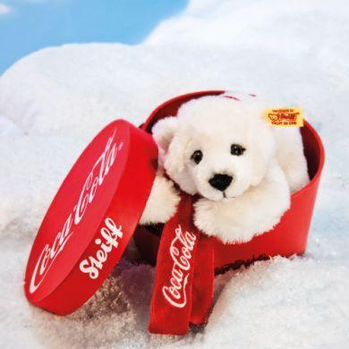 STEIFF Coca-Cola Lední medvěd v krabičce cena od 0 Kč