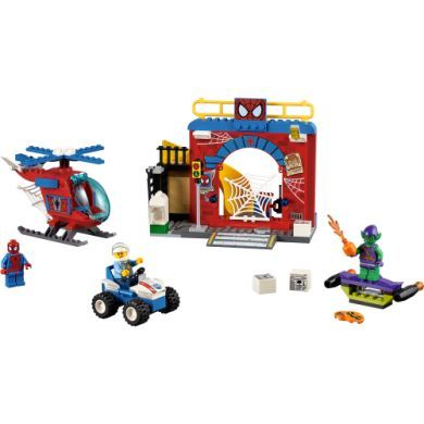 Lego JUNIORS Spider-Manova skrýš 10687