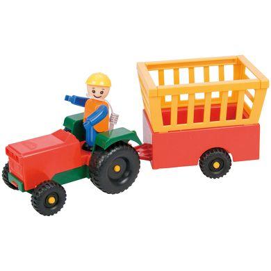 LENA Malý robustní traktor s přívěsem cena od 150 Kč