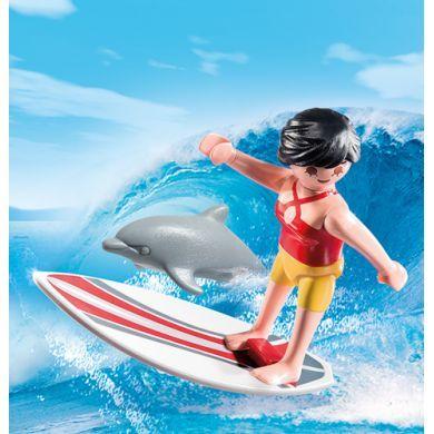 PLAYMOBIL Surfařka s delfínem 5372