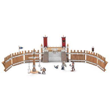 SCHLEICH Bojová aréna se 2 rytíři a příslušenstvím 42273