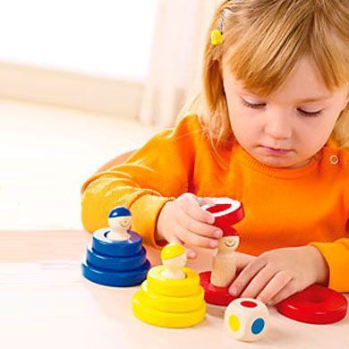 HABA hra s kroužky cena od 390 Kč