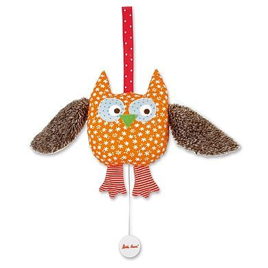 KÄTHE KRUSE hrací hračka sova alba cena od 470 Kč
