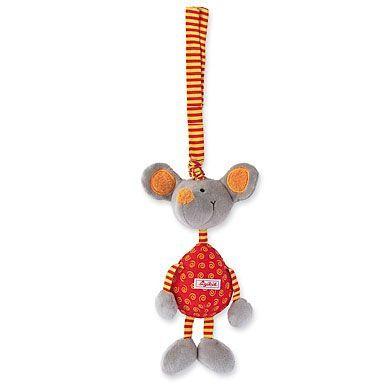 SIGIKID Přívěšek myš s chrastítkem cena od 343 Kč