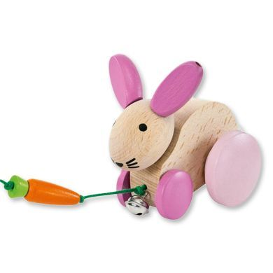 SELECTA Tahací hračka Hanna Hoppel cena od 389 Kč