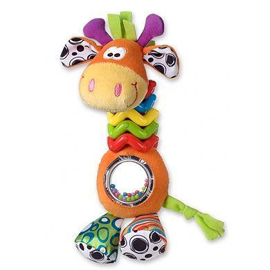 Rotho Babydesign PLAYGRO Chrastítko žirafa cena od 204 Kč