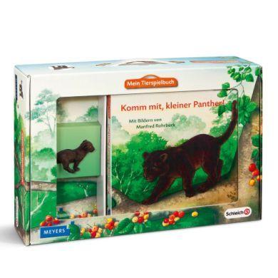 SCHLEICH Mein Tierspielbuch Komm mit, kleiner Panther cena od 340 Kč