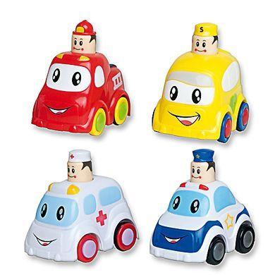 BIECO Push a Go Mini autíčka cena od 153 Kč