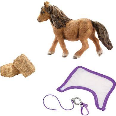 SCHLEICH Farm Life sada 4 Péče o Shetlandského ponny cena od 0 Kč