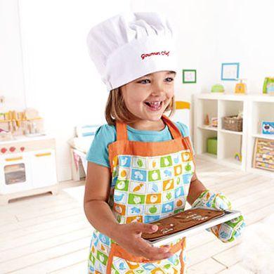 HAPE Šéfkuchař sada s čepicí