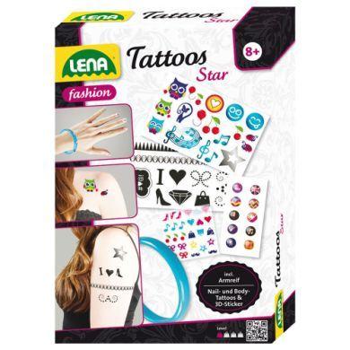 LENA Tetování Star cena od 120 Kč