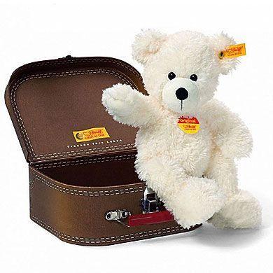STEIFF Plyšový medvídek Lotte s kufrem 28 cm cena od 915 Kč