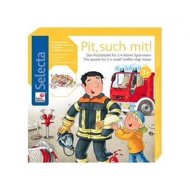 SELECTA Puzzlespiel Pit, such mit! cena od 0 Kč