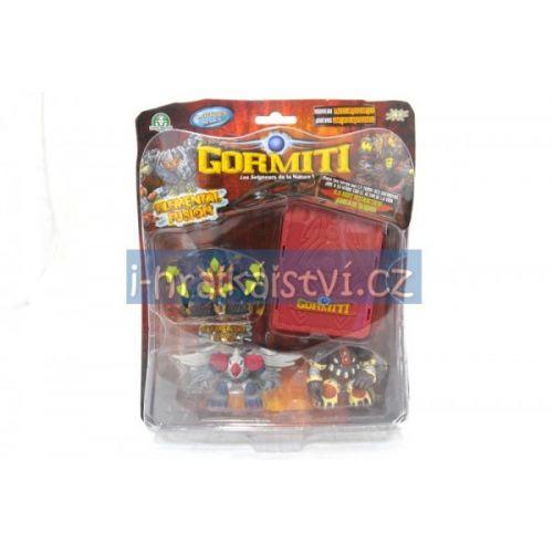 EPLINE Gormiti Elemental Fusion 3 figurky (varianta 6) cena od 0 Kč