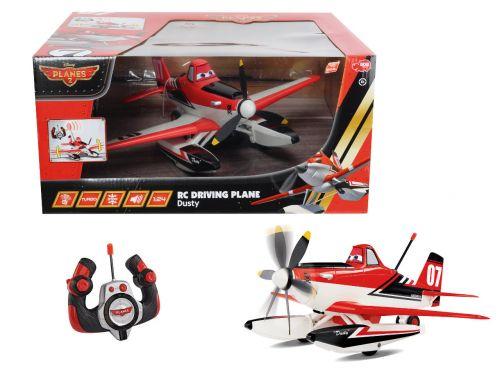 Dickie Planes RC jezdící letadlo Prášek 1:24 cena od 998 Kč