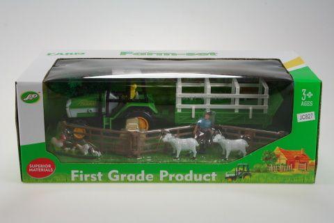 Lamps Traktor sada se zvířátky cena od 149 Kč