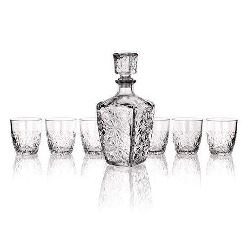 BORMIOLI sada na whisky 7 dílů cena od 328 Kč
