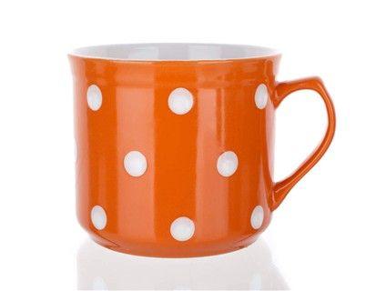 BANQUET BIG oranžový s puntíky 660 ml cena od 0 Kč