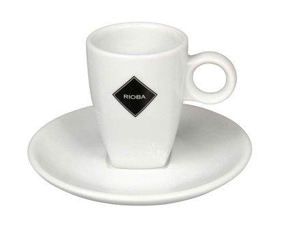 BANQUET Šapo Espresso dekor Rioba Šálek + podšálek cena od 97 Kč