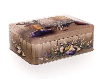 BANQUET LAVENDER Plechovka box na čaj cena od 135 Kč
