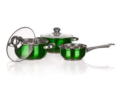 BANQUET Maestro Green nádobí 5 ks cena od 599 Kč
