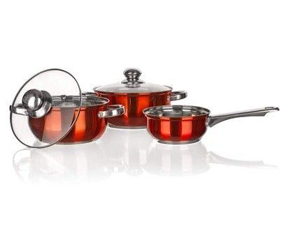BANQUET Maestro Orange nádobí 5 ks cena od 645 Kč
