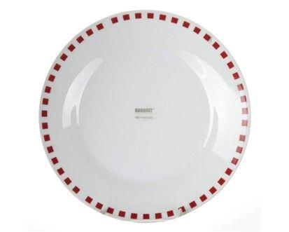 BANQUET CUBITO RED talíř desertní 19 cm  cena od 39 Kč