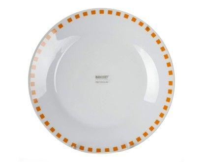 BANQUET CUBITO ORANGE talíř desertní 19 cm  cena od 35 Kč