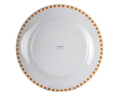 BANQUET CUBITO ORANGE talíř mělký 24 cm cena od 51 Kč