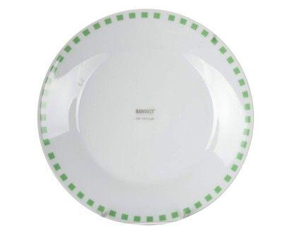 BANQUET CUBITO GREEN talíř desertní 19 cm  cena od 35 Kč