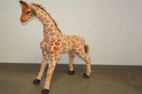 Lamps Plyš Žirafa 95 cm cena od 0 Kč