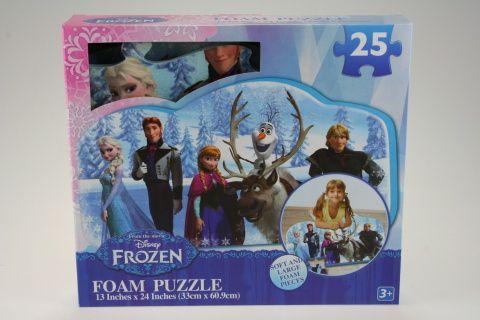 Lamps Puzzle pěnové Frozen 25 dílků cena od 199 Kč