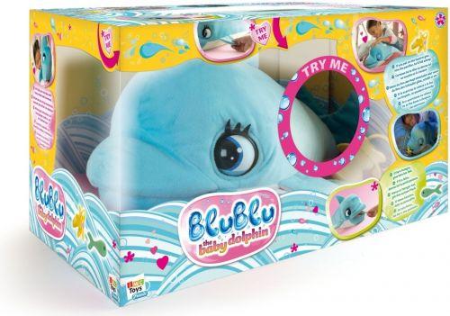 Mikro Trading Delfín Blu Blu plyšový se zvukem 60 cm