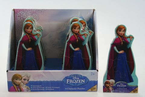 Lamps Puzzle dřevěné Frozen Anna 6 ks cena od 90 Kč