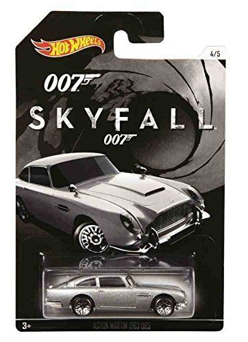 Mattel Hot Wheels angličák James Bond Skyfall