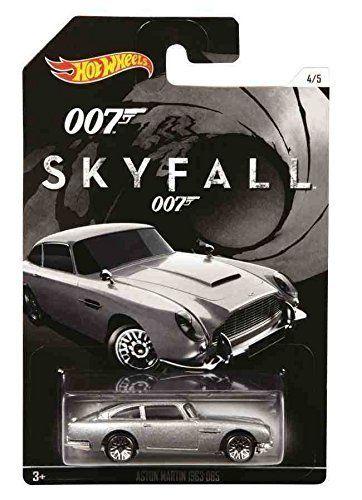 Mattel Hot Wheels angličák James Bond Skyfall