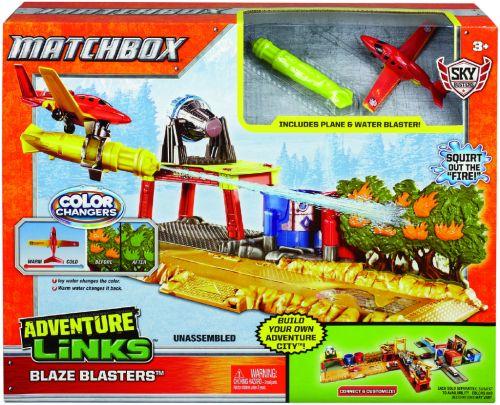Mattel Matchbox letadla změna barvy