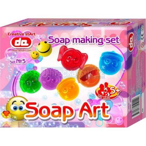 DetiArt Výroba mýdel Smajlíci