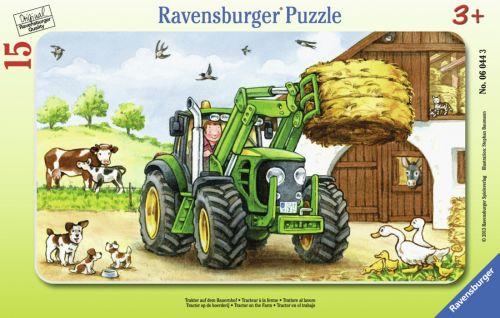 Ravensburger Traktor na statku 12 dílků cena od 99 Kč