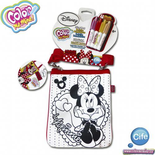 Alltoys Color Me Mine kabelka se zipem Minnie cena od 0 Kč