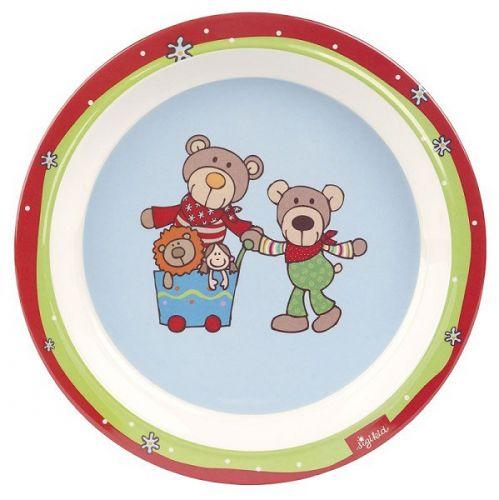 SIGIKID Medvídek Wild talířek cena od 191 Kč