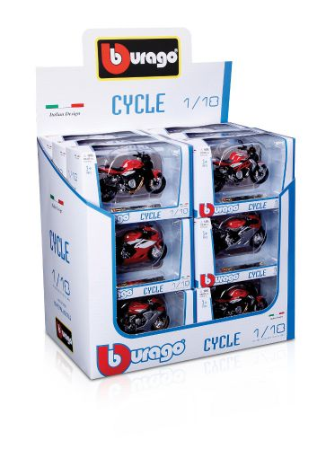 Bburago MOTOCYCLE COLL.ASSORT 1:18