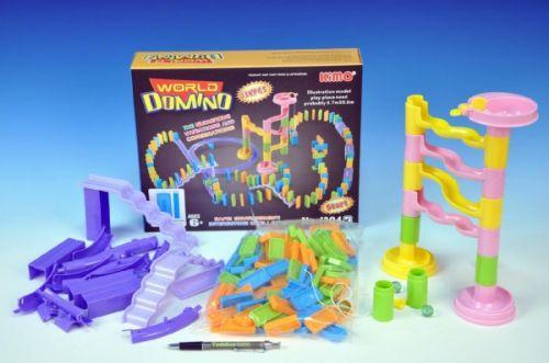 Teddies Domino a kuličková dráha v jednom cena od 208 Kč