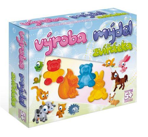 DetiArt Výroba mýdel Zvířata cena od 207 Kč