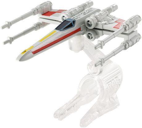 Mattel Hot Wheels Star Wars kolekce hvězdných lodí X-Wing Fighter cena od 170 Kč