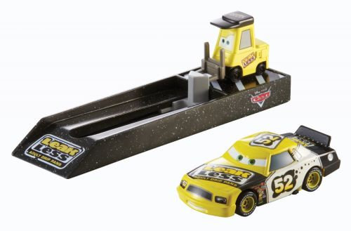 Mattel Cars vystřelovač s autíčkem Leakless No. 52
